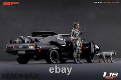 118 Mad Max VERY RARE! Figurine NO CARS! For ford falcon diecast by SF