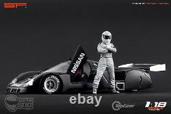 118 The Stig Top Gear VERY RARE! Figurine NO CARS! For diecast by SF