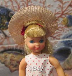 1966 VERY RARE Barbie Vtg. TUTTIBOXED SETWALKIN`MY DOLLY! 3552COMPLETE+MINT