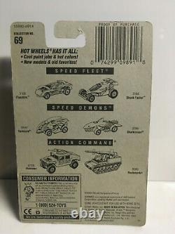 1992 Hot Wheels Ferrari F40 COLLECTOR #69 GOLD LACE WHEELS VARIATION VERY RARE