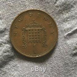 1p 1971 NEW PENCE Coin. Very rare One Penny! Very Good condition