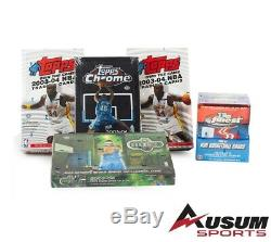 2003-04 Exquisite, Topps Chrome, SP basketball box (Total 28 boxes) VERY RARE