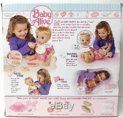 2006 Blonde My Baby Alive Doll Extra Value Very Rare Doll NEW