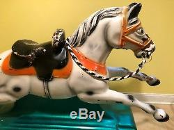Antique Horse Coin Op Kiddie Ride Made in Italy very rare SEE NEW VIDEO
