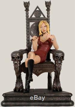 BUFFY Sideshow Statue Throne of Vampire Slayer LE 121/750 NEW Very Rare + Sexy
