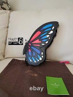 Brand NEW Kate Spade Butterfly Wing It Clutch Novelty Very rare