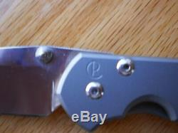Chris Reeve Special This Week Only Classic MM 2000 Knife Very Rare Brand New