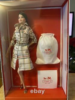 Coach Barbie Doll NRFB Exclusive Designer Collection Gold Label Mattel Very Rare
