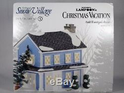 Dept 56 Snow Village Christmas Vacation Todd & Margo's House Very Rare Exquisite