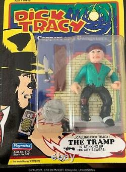 Dick Tracy Action Figures-Including Very Rare The Blank figure MOC