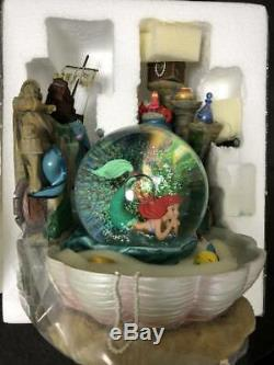 Disney The Little mermaid ariel snow globe Very Rare Discontinued goods