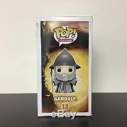 Funko POP The Hobbit Gandalf with Hat VAULTED Very Good Condition & Rare