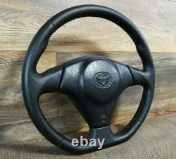 JDM Toyota Supra MR2 CELICA Very Rare Steering Wheel Remanufactured New Leather
