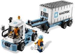 LEGO City 10219 Maersk Cargo Train New in Box Sealed Retired, Very Rare