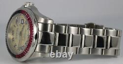 NEW VERY RARE Invicta Sapphire PINK BLUE METEORITE Golden Dial Automatic 5122