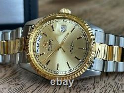 NWT! VERY RARE Orient President Datejust Automatic Watch USA SELLER