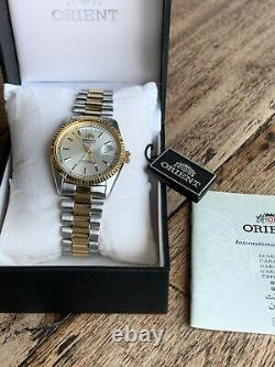 NWT! VERY RARE Orient President Datejust Oyster Automatic Watch USA SELLER