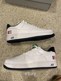 Nike Air Force 1 Puerto Rico Size 12 Brand New Very Rare Shoe Cancelled Pair