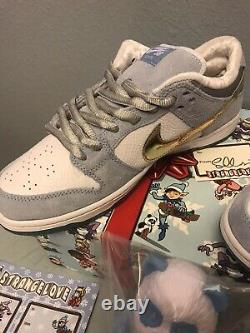 Nike SB X Sean Cliver Strangelove Dunk Low DS 10.5 Holiday Kit Very Rare