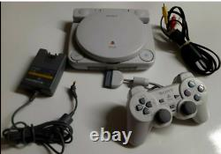 Official Sony PSOne LCD Screen-PS1 Slim Console SCPH-141 Complete! Very Rare! LN