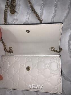 Only One On Ebay! Gucci Supreme Cherries Mini Chain Bag- Very Rare As New