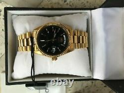 Orient Day Date Automatic Black Dial Presidents Watch, Japan, Very Rare
