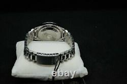 Orient Oyster President Day Date 36mm FEV03001WY Silver SS NOS Very Rare