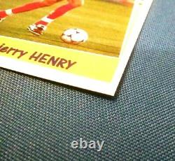 Panini Thierry Henry Image Sticker Superfoot 98 99 France #194 very rare NEW