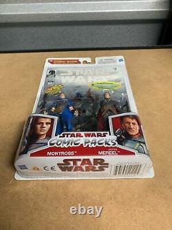 Star Wars Jaster Mereel and Montross Mandalorians Exclusive Very Rare Ultimate