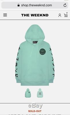 The Weeknd KISS LAND 5 Year Anniversary SWEATER Size SMALL VERY RARE