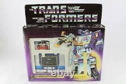 Transformers G1 Soundwave Authentic Sealed New Hasbro Euro New Very Rare
