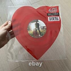 UO Exclusive Lana Del Rey Lust for Life/Love Heart-shaped Vinyl VERY RARE