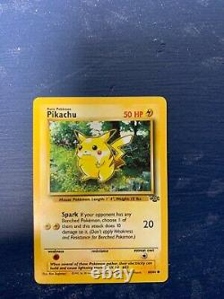 VERY RARE 1995 pokemon cards pikachu and charmander in great condition