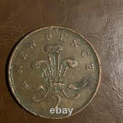 Very Rare New Pence 1980 2p Coin