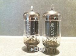 Very rare matched pair Telefunken ECC83 12AX7 with early 1960's tube