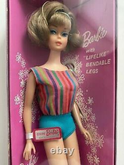 Vintage Barbie American Girl Side Part 1965 Very RARE NRFB Perfect Condition